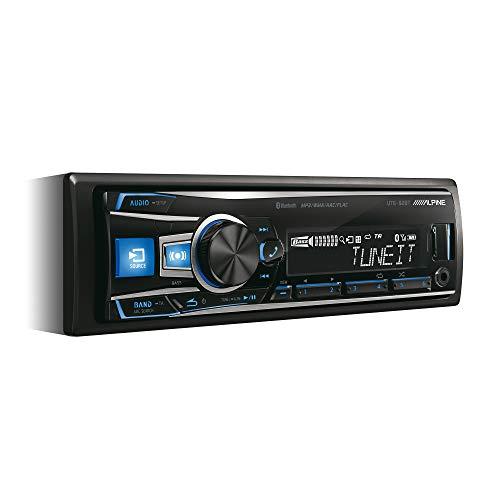 Alpine Electronics UTE-92BT Autoradio Bluetooth 1DIN, Schwarz (RGB...