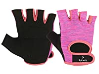 Spinway Gloves Aids Lifting Technique Because Of The Increased Coordination, As Well As Allows Maintaining Proper Hand-Bar Position. Natural leather palm, washable leather and mesh, double stitched, 4 - way stretch poly span mesh, short finger length...