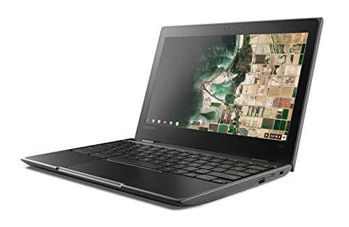 "2019 Lenovo 11.6"" HD IPS Touchscreen 2-in-1 Chromebook, Quad-Core MediaTek MT8173C (4C, 2X A72 + 2X A53), 4GB RAM, 32GB eMMC, 802.11ac WiFi, Bluetooth 4.2, HDMI, Type-C, Chrome OS"