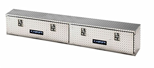 Product Image 1: Lund 8172T 72-Inch Aluminum Top Mount Truck Tool Box, Diamond Plated, Silver