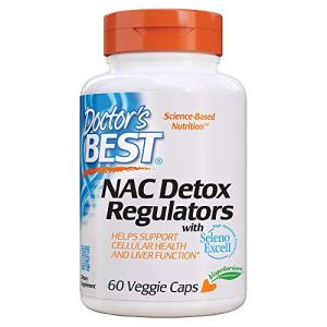 Doctor's Best NAC Detox Regulators with Seleno Excell, Non-GMO, Vegetarian, Gluten Free, Soy Free, 60 Veggie Caps 8 - My Weight Loss Today