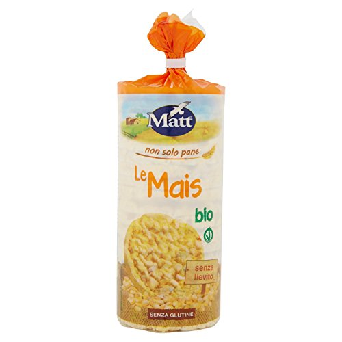 Matt - Gallette di Mais Bio - Senza Glutine - 130 gr