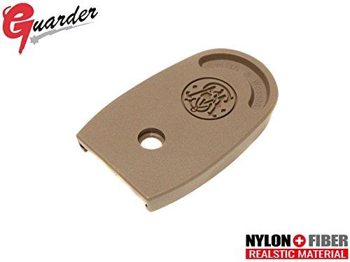 GUARDER スタンダード マガジンベース M&P9 FDE(フラットダークアース)