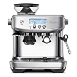Breville BES878BSS Barista Pro Espresso Machine, Brushed Stainless Steel, Medium