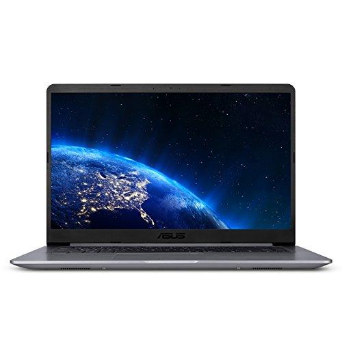 ASUS VivoBook F510UA 15.6 Full HD Nanoedge Laptop, Intel Core i5-8250U Processor, 8GB DDR4 RAM, 1TB HDD, USB-C, Fingerprint, Windows 10 Home - F510UA-AH51, Star Gray