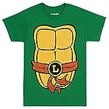 Teenage Mutant Ninja Turtles Adult Costume T-Shirt - Leo Brown (X-Large)