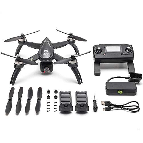 Mobiliarbus MJX RC Drone Bugs 5W B5W con Fotocamera 4K Drone 5G WiFi Brushless GPS Traccia Punto di Interesse di Volo Gesto Foto Video RC Quadcopter W / 2 batterie