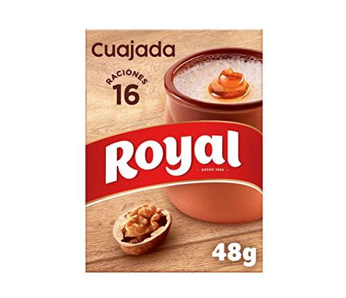 Royal Cuajada Tradicional Azucarada en Polvo 16 Raciones, 48g
