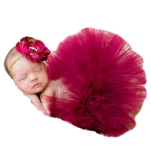 Newborn Baby Photography Props Girl Tutu Skirt Baby Girls Photo...