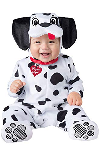 InCharacter Baby Dalmatian Puppy Dog Costume Size Large 18 Months-2T Black/White