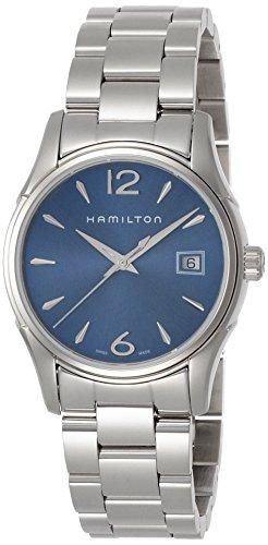 Hamilton Damen Analog Quarz Uhr mit Silber Armband H32351145