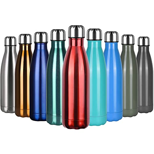flintronic Botella Termica, 500ML Botella de Agua de Acero Inoxidable,...