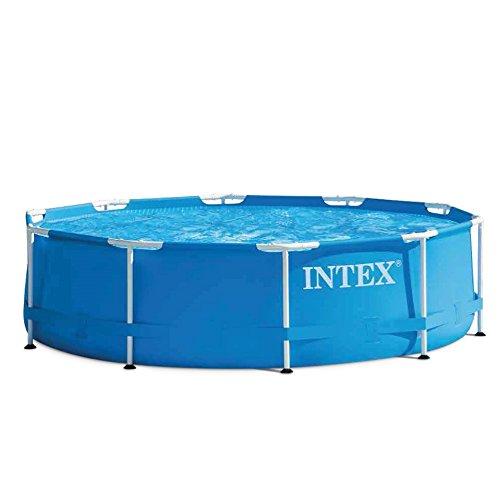 Intex 28202 Piscina Metal Frame Rotonda 305X76Cm, 4500 Litri, 305 x 76 cm