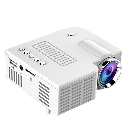 Dumgrn, videoproiettore portatile con 20000 ore di luce, mini proiettore Home Theater, supporto HD...