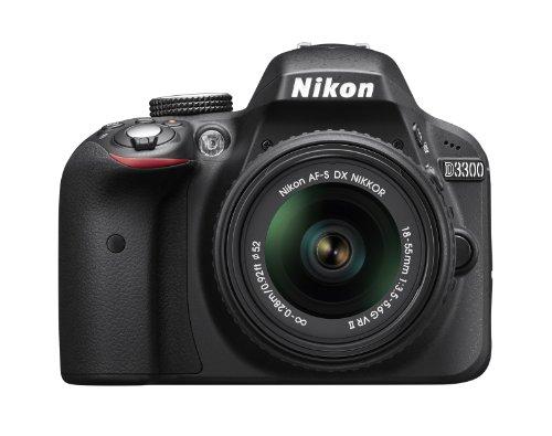 Nikon D3300 24.2 MP CMOS Digital SLR with Auto Focus-S DX...