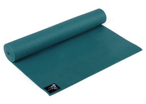 Yogistar Yogamatte Basic - rutschfest - Petrol