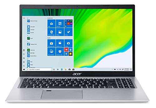 Acer Aspire 5 A515-56-50RS, 15.6' Full HD IPS Display, 11th Gen Intel Core i5-1135G7, Intel Iris Xe Graphics, 8GB DDR4, 256GB NVMe SSD, WiFi 6, Fingerprint Reader, Backlit Keyboard