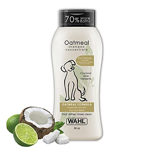 Wahl Dry Skin & Itch Relief Pet Shampoo for Dogs...