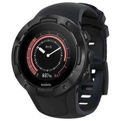 Suunto 5 Lightweight GPS Sports Watch, All Black