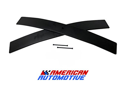 American Automotive 1.5'-2' Rear Add-A-Leaf (Short) Carbon Suspension Leveling Lift Kit Load Capacity and Tow Package Upgrade