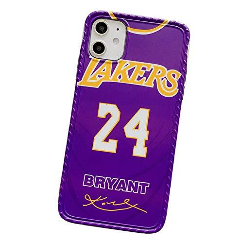 XMYM Custodia Kobe Bryant per iPhone 11/11 PRO / 11 PRO Max, Materiale TPU e Custodia Protettiva...