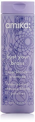 Amika Bust Your Brass Cool Blonde Shampoo, 2.03 Fl...