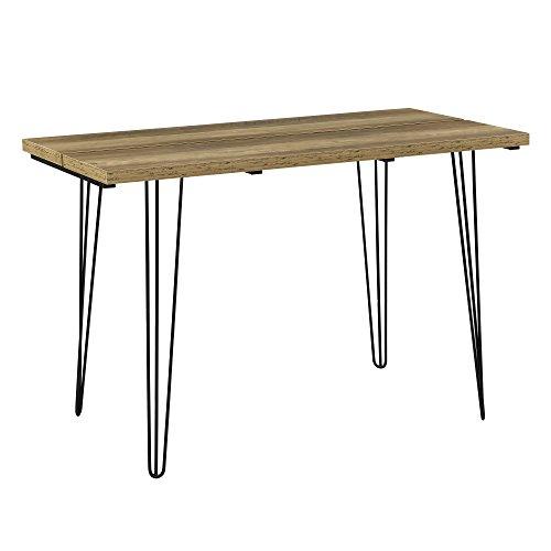 [en.casa] Table à Manger Design avec Pieds d'Épingle à Cheveux Table de Cuisine Table de Salle à Manger Bois 160cm x 75cm x 77cm