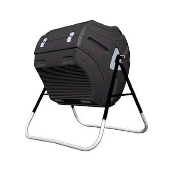 Lifetime 304 Litre (80 Gallon) Compost Tumbler - Black