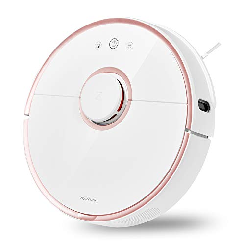 Roborock S5 Robotic Vacuum and Mop Cleaner, Rose GOLD