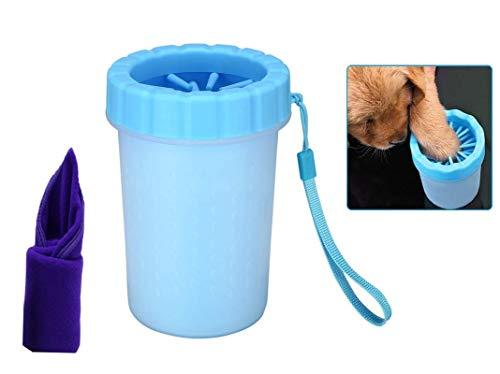 Bochang Limpiador Patas Perro-Cepillo para Perros-Limpia Pat