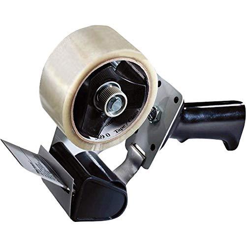 Tartan Pistol Grip Box Sealing Tape Dispenser HB903, Black, 2