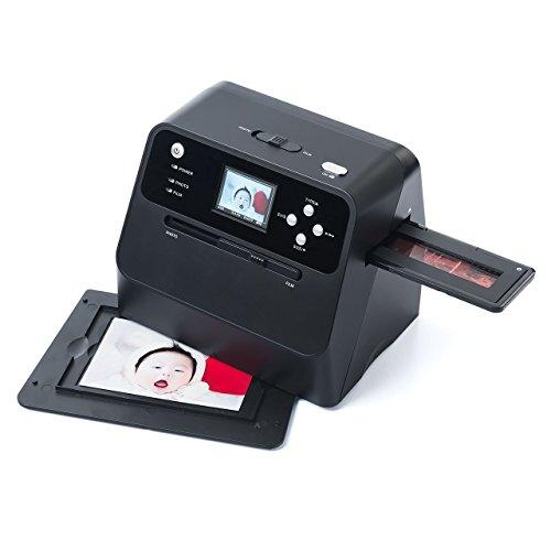 イーサプライ フィルム&写真スキャナー 高画質3200dpi ネガフィルム/ポジフィルム対応 SD保存 バッテリー内蔵 EZ4-SCN041