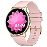 YAMAY Smart Watch Compatible iPhone and Android Phones IP68 Waterproof, Watches for Men Women Round...