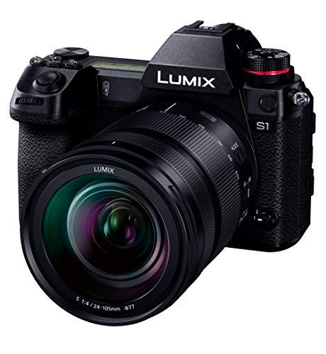 パナソニック フルサイズ ミラーレス一眼カメラ ルミックス S1M 標準ズームレンズキット 2420万画素 ブラック DC-S1M-K