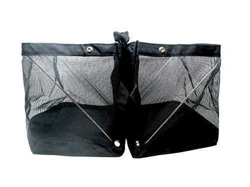 Trademark Innovations Rear Bike Basket Rack Bag Pannier for Groceries