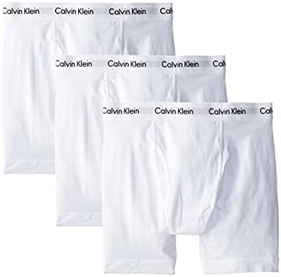 Cotton stretch underwear boxer briefs multipack featuring comfortable elastic Calvin Klein logo waistband Soft and breathable stretch cotton blend Packs are available in assorted colors Stretch fabrication for comfort and shape retention Durable, eve...