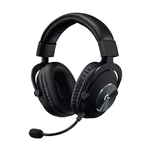 Logitech G, Casque Gaming PRO (2e Génération), Confortable et Durable avec Transducteurs Audio PRO-G 50 mm, Aluminium, Acier et Mousse à Mémoire de Forme (pour PC, PS4, Switch, Xbox One, VR) - Noir