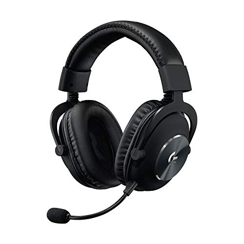 Logitech G PRO X - Auriculares para Gaming con Blue VO!CE, USB, Negro
