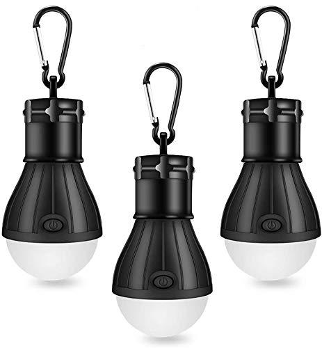 Linkax Lámpara Camping LED,Linterna para Camping,[3 Unidades]...