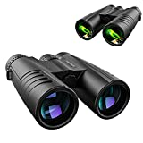 12x42 HD Professional Binoculars for Adults with Phone Adapter: High Power Waterproof Compact and...