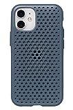 AndMesh iPhone 12 mini ケース ハイブリッド 耐衝撃 [ネイビー]