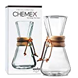CHEMEX Pour-Over Glass Coffeemaker...