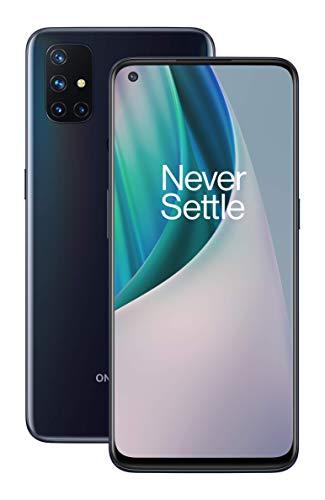 """OnePlus N10 Midnight Ice   6.49"""" 90Hz Display   6GB RAM + 128GB Speicher   Vierfach Kamera   Warp Charge 30T   Duale SIM   5G  2 Jahre Garantie"""