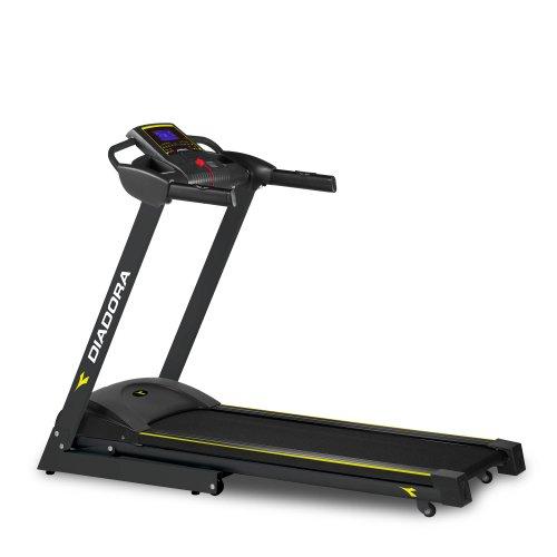 Diadora Fitness Edge Dark 2.0 Tapis Roulant, Motore 1.5, Velocità 13 km/h