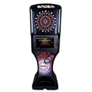 Spider 360 2000 Series, Electronic Dartboard, Home Commercial Grade Dart Board, Standing Electronic Soft tip Dartboard