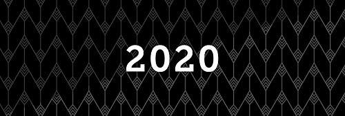 Tischkalender 2020, Querkalender Querterminbuch 2020, 1 Woche/ 1 Seite, 64 Seiten, 297 x 130 mm, Quer, Terminkalender, Karton, Jahresübersicht 2020/2021 inkl. Adress-Notizseiten, Wire-O-Bindung