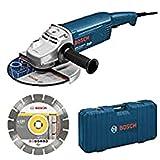 Bosch Professional - Amoladora 230 Jh Disco Maletin Bosch 2200 W