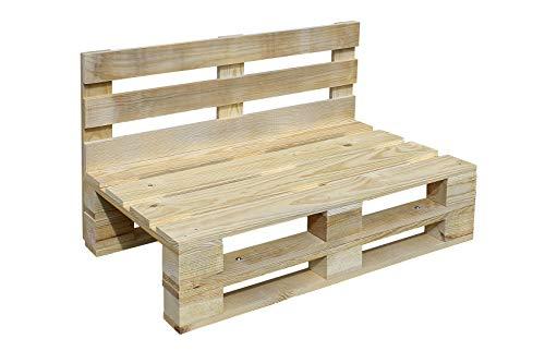 Sofa PALETS Lijado Y Cepillado - Medida 120cm X 60cm -Interi