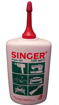 'Singer' Oil Lubricant for The Mechanical Parts of Appliances