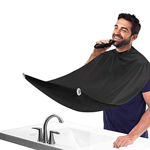 Grembiule da barba con 2 ventose, regalo per uomini